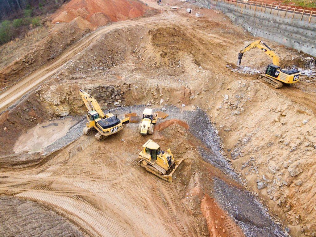 Digging construction